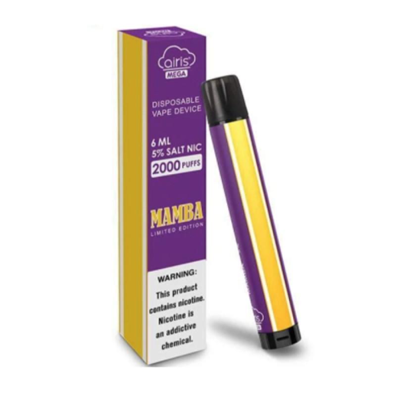 Airis MEGA Disposable Vape Device - 6PK