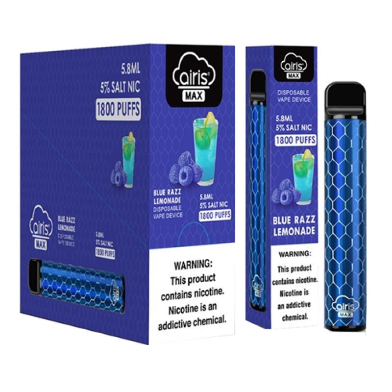 Airis MAX Disposable Vape Device - 10PK